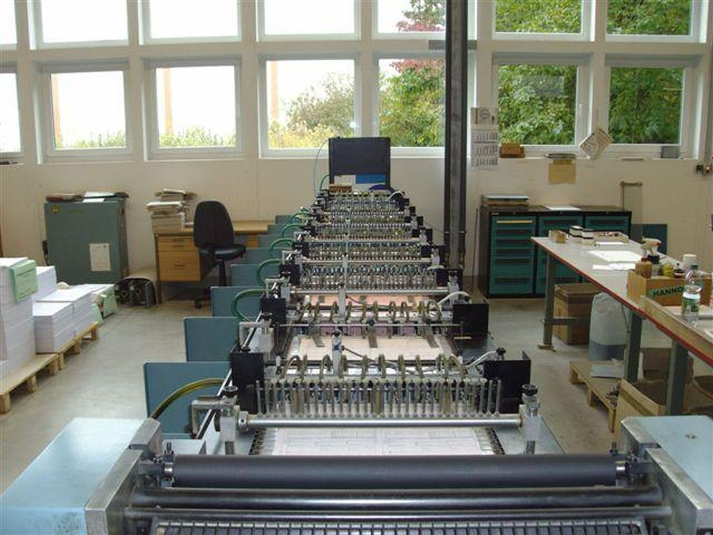 Collator for single Sheets