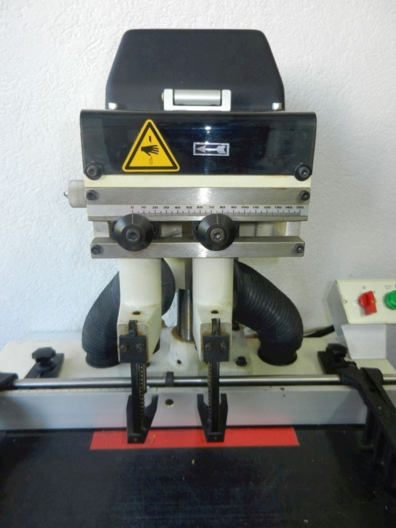 2-head spindle paper drilling