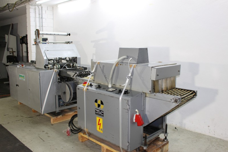 Wrapping & Shrinking machine