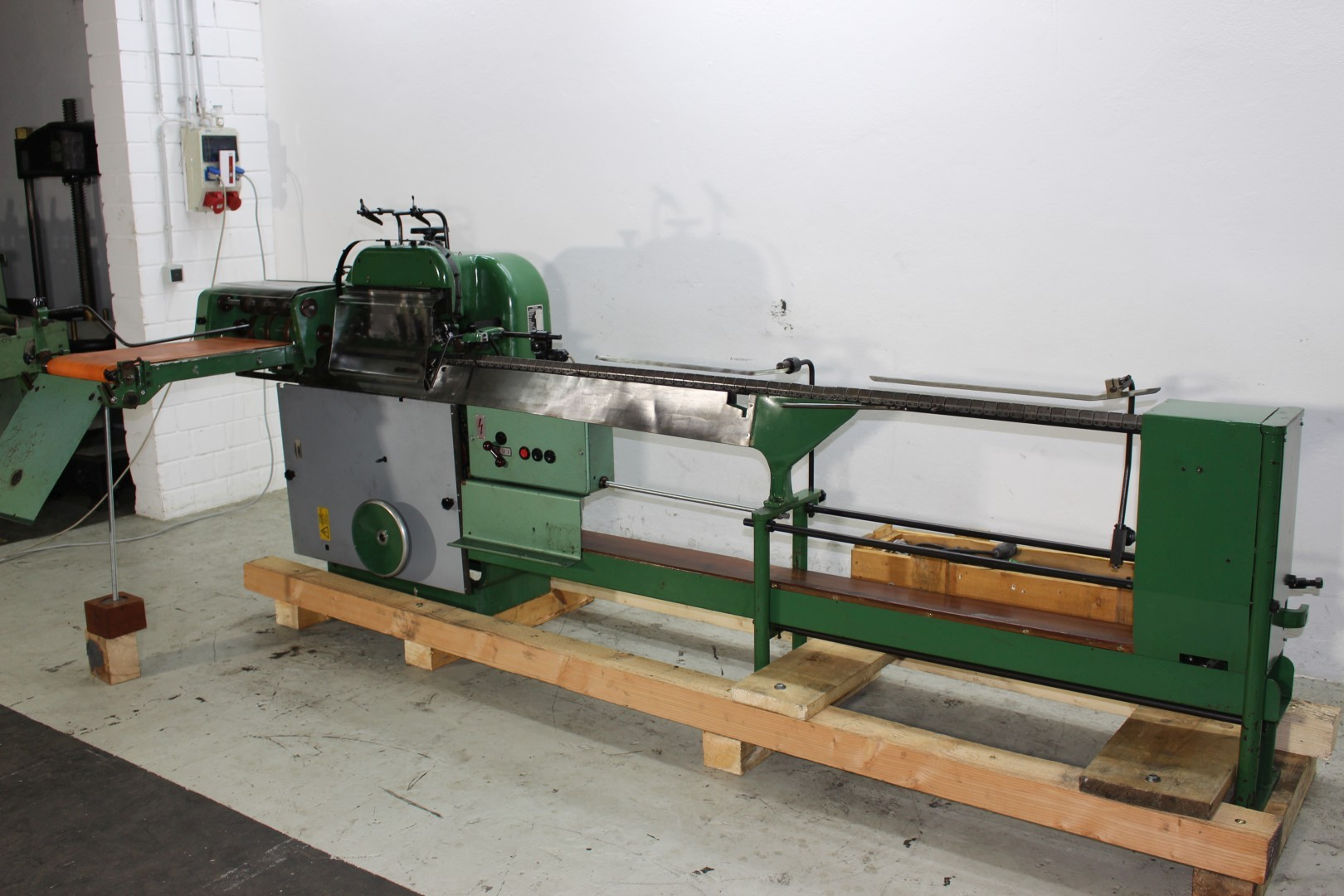 Saddle Stitcher Hand Fed 2 Stations