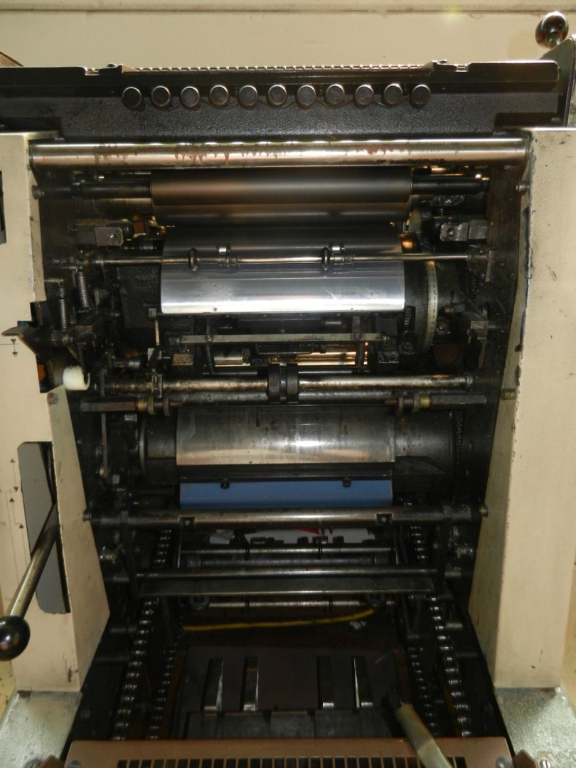 1 Color Sheet-Fed Offset Press